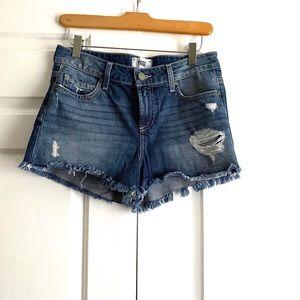 PAIGE Daryn denim jean shorts Sz. 26